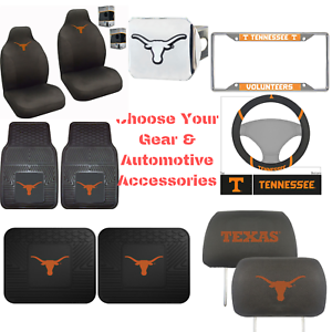 NCAA-Texas-Longhorns-Choose-Your-Gear-Auto-Accessories-Official-Licensed