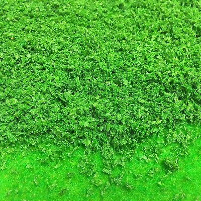 Wargames Warhammer Model Railway Scenery Leaves S-P Green Plastic Bushes A