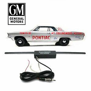 1961-63 GM Y-Body Car Stereo Hidden Aerial FM Radio Antenna Swiss Cheese Tempest