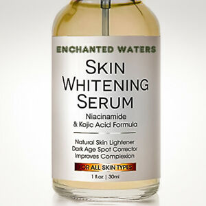 Skin-Whitening-Lightening-Brightening-Serum-Kojic-Acid-Dark-Spot-Bleaching-Cream