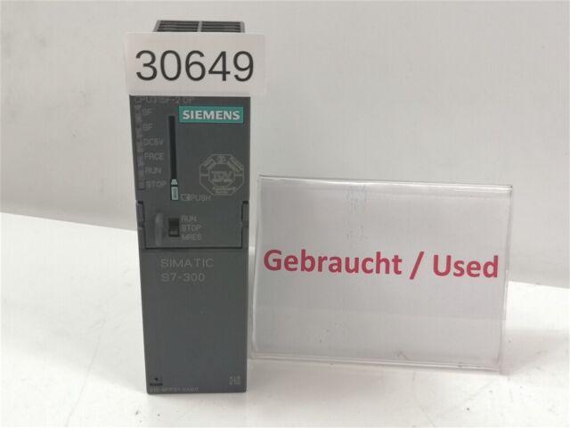 Siemens Simatic S7 6ES7 315-6FF01-0AB0