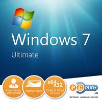 Microsoft Ms Windows 7 Ultimate 1pc Original 64/32-bit
