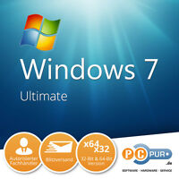 Microsoft Windows 7 Ultimate 64bit (SP1) (Lizenz   Medien) (1) - Vollversion für Windows GLC-01848 -OEM Software