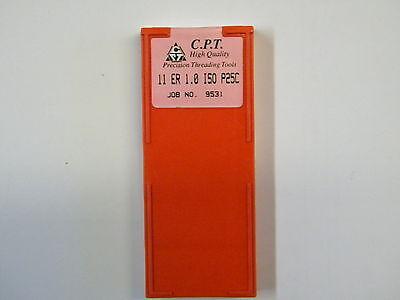 Gewindeplatten von CPT 11ER 0,7 ISO MXC