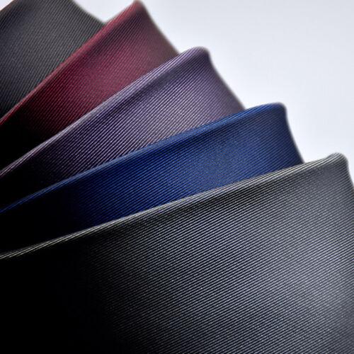Hommes élégant 6 Cm Fermeture Éclair Col Cravate Mariage Fête Haute Qualité Business Cravatte