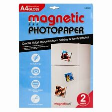 Magnetic Photo paper 2 in a pack