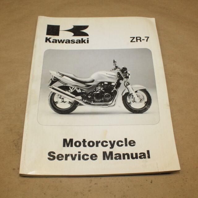Oem 1999 2000 Kawasaki Zr7 Dealer Service Manual 99924 1248 01