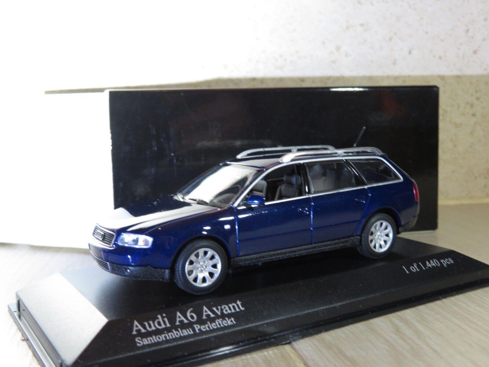 1 43 Minichamps Audi A6 Avant (2001) diecast