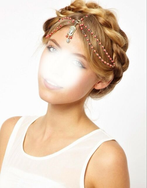 Bohemian Women Metal Head Chain Jewelry Forehead Dance Headband Piece Hair band