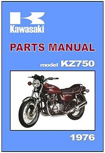 image is loading kawasaki-parts-manual-kz750-z750-kz750-b1-twin-