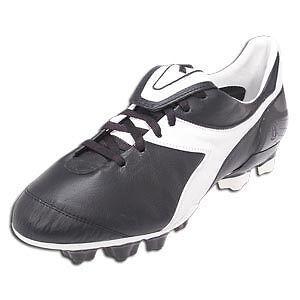 Diadora Brasil axeler Rtx 14 Negro blancoo Soccer Talle 4