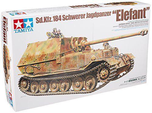 Tamiya 1 35 Sd.kfz.184 Schwerer  Jagdpanzer Elefant Kit modellolololo nuovo da Giappone  economico e alla moda