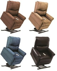 Pride-Mobility-Essential-Electric-Recliner-Power-Lift-Chair-Medium-LC-105-NEW