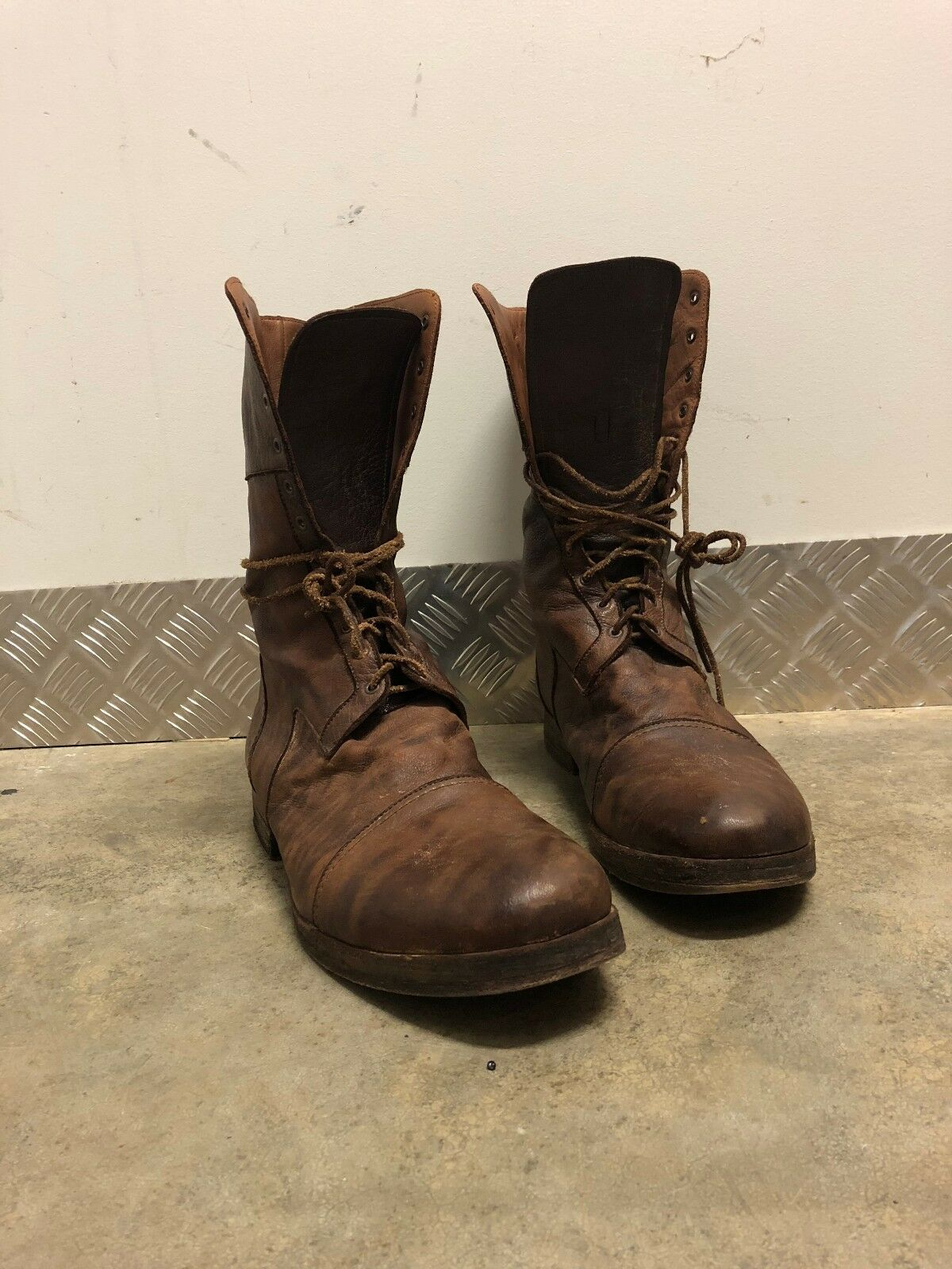 Christian Peau boots  for Hommes  Size 44 perfect perfect 44 conditions old leather e72707