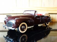 Franklin Mint 1941 Lincoln Continental Convertible 1:24 Scale Diecast Model Car