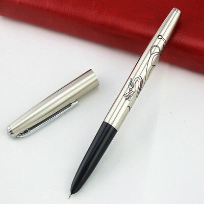 2018 Jinhao 911 All steel China Fountain Pen Extra Fine Nib 0.38mm Writing Gift