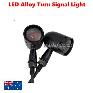 2x-Black-Smoke-LED-Turn-Signal-Blinkers-Light-Harley-Ultra-Tour-Glide-Classic