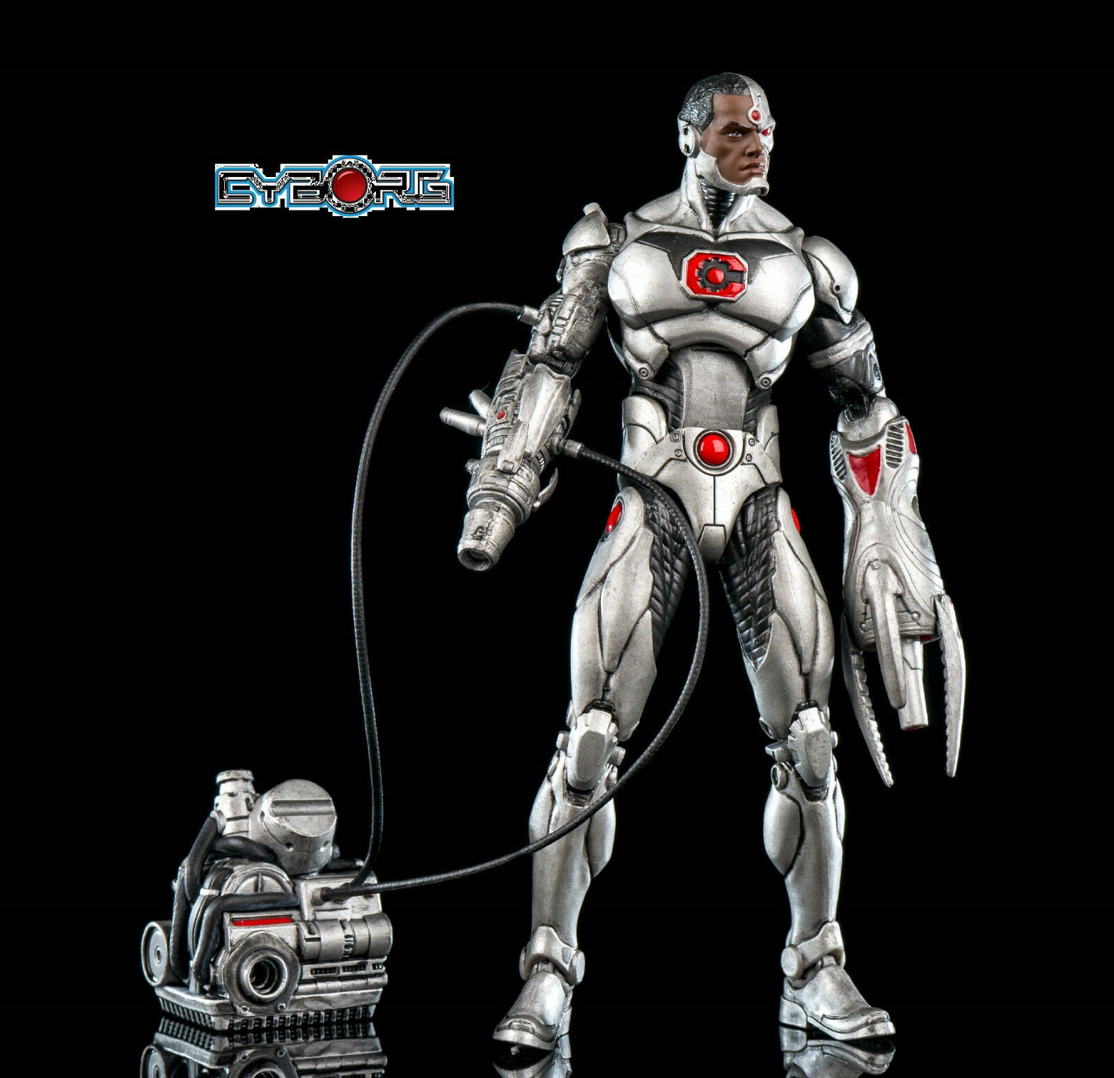 Dc Collectibles - Icons Series - Cyborg Deluxe Action Figure - Nip