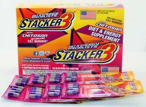 20x-Packs-Stacker-3-Chitosan-4-Capsules-Pack-Diet-Weight-Fat-Loss-Energy-Burn