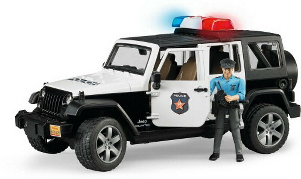 Bruder Jeep Wrangler Unlimited Rubicon Polizei 1 1 1 Stück d0b3ba
