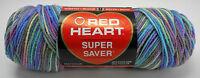 Red Heart Super Saver Worsted Weight Yarn-1 Skein Variegated Monet 0310