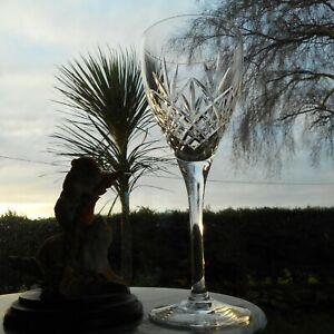 "CRYSTAL ""HELLENE"" Goblet Wine Glass"