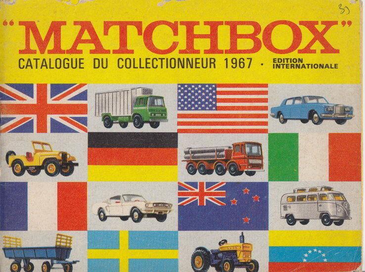 MATCHscatola CATALOGO FranciaFrench edizione 1967 Top