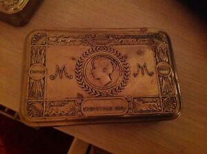 WWI Princess Mary 1914 Original Christmas Brass Gift Tin EMPTYii