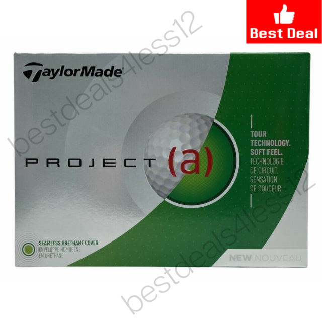 (New) TaylorMade Golf 2018 Project  Genuine Tour Dual-Distance Core Golf Balls