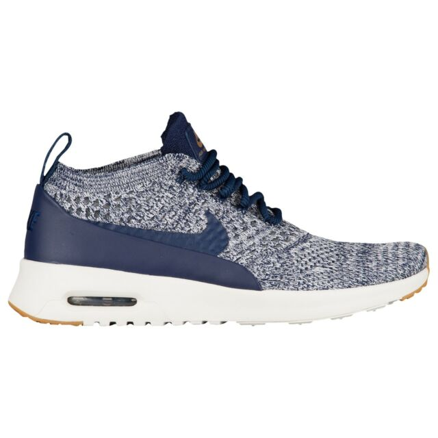 202c8983c6 Nike Air Max Thea Ultra FK Running Shoes Size 7 - 10 Navy Blue White 881175