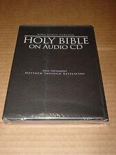 *NEW* King James Version Holy Bible on Audio CD New Testament Braun Media MP3 CD
