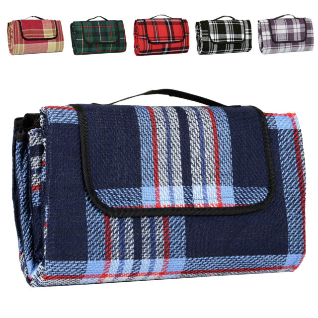 Folding Waterproof Picnic Blanket Car Travel Rug