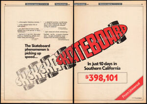 SKATEBOARD-Original-1978-Trade-AD-promo-poster-LEIF-GARRETT-Southern-Calif