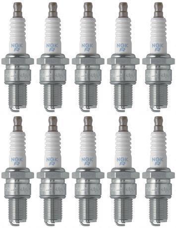 Set of 10 NGK Standard Spark Plugs ski-Doo MACH Z 2002-2000 Engine 800cc