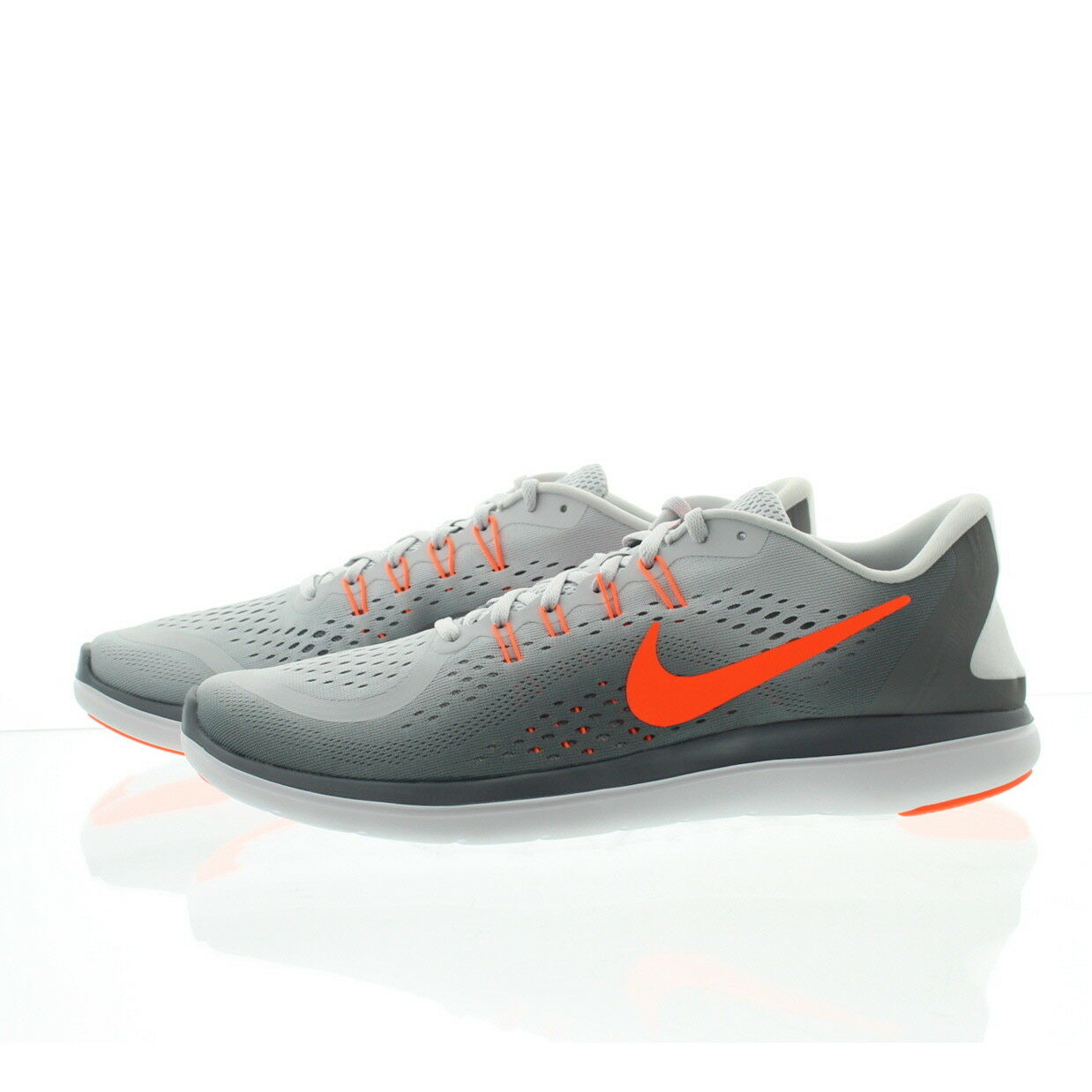 Nike 898457 Mens Flex 2017 Flywire Running Athletic Low Top shoes Sneakers