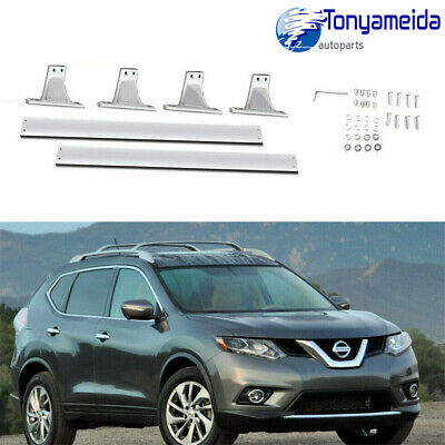 Aluminum Top Roof Rack Cross Bar Luggage Anti-theft for Nissan Rogue 2014-2019