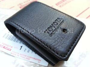 toyota land cruiser 200 black leather smart key case cover newimage is loading toyota land cruiser 200 black leather smart key