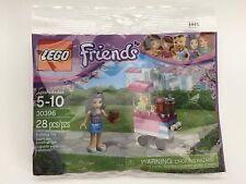 NIP LEGO Friends 30396 Emma's Cupcake Stand 28 pcs Polybag Mini Figure + Bonus