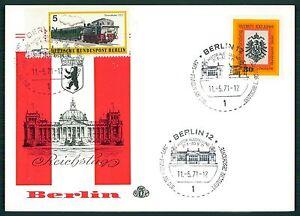 BERLIN-SONDERKARTE-1971-REICHSTAG-AUSSTELLUNG-034-DEUTSCHE-GESCHICHTE-034-au31