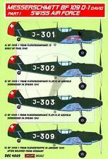 KORA Decals 1/48 Swiss Air Force MESSERSCHMITT Bf-109D-1 Part 1