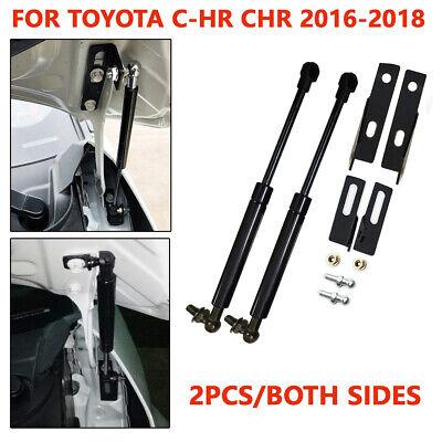 Front Bonnet Engine Hood Lift Support Shock Struts For Toyota C-HR CHR 2016-2018