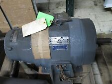 Reuland Electric AC Motor w/ Brake 5/2.5HP 1750/875RPM 460V 7/5A Used