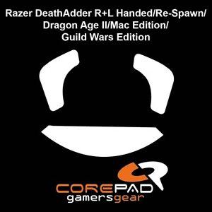 Corepad-Skatez-Razer-Deathadder-Death-Adder-Re-Spawn-Ersatz-Teflon-Mausfuesse