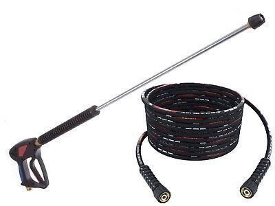 Pistolet lance et buse avec 30m DN8 tuyau pour Haute Laveuse à Pression Karcher