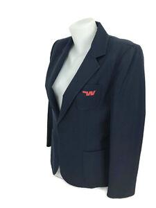 Vintage-1960s-Western-Airlines-Womens-Flight-Attendant-Stewardess-Navy-Blazer-12