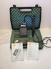 Testo Term Hygrotest Model 6400 In Case Digital Thermometer 1999 1999f