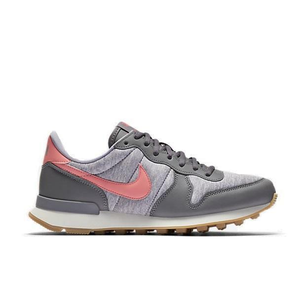 Damen Nike Internationaliste Graue Sportschuhe 828407 020
