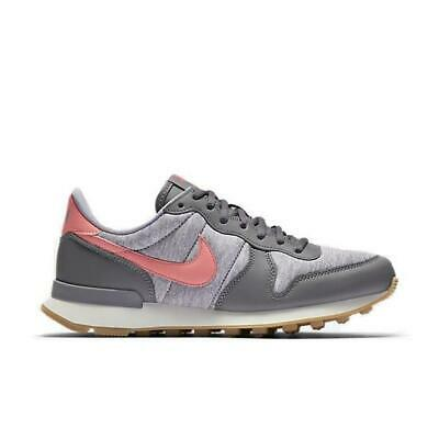 Womens NIKE INTERNATIONALIST Grey Trainers 828407 020