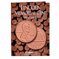 H.e. Harris 2675 Lincoln Cents 1959-1998 Folder With Free Shipping