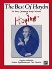 The Best of Haydn (for String Quartet or String Orchestra): Viola by Alfred Music (Paperback / softback, 1985)